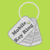 Mobile Key Ring - Barcode Rewards Shopper's Card