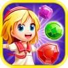 Diamants Dash! meilleur jeu de match 3 et puzzle gratuit plein de candy - Amazing Jewel World Star Adventure 2