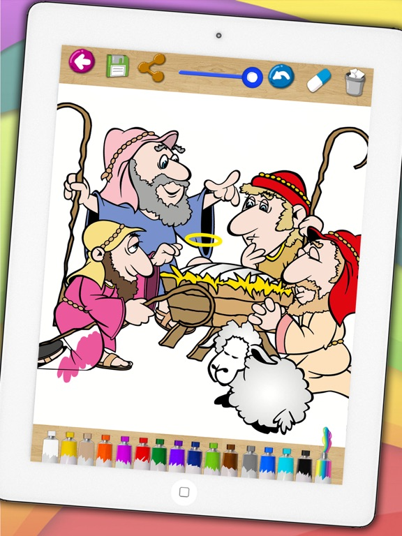 Kids paint bible coloring book - Funny drawings Bible coloring ...