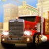 American Truck Cargo Delivery 3D