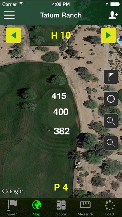 Golf GPS - FreeCaddie Pro screenshot two