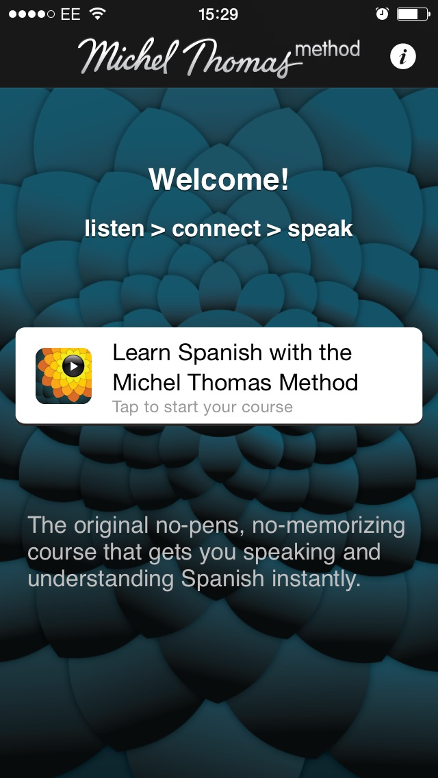 download Michel Thomas: Spanish appstore review