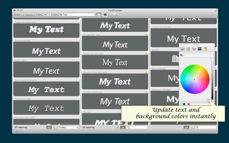 download FontPreview appstore review