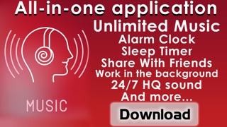download Free Music Player on iPhone - MP3 streamer from the best online radio & DJ playlist apps 3