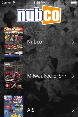 Nubco Catalogue screenshot 1