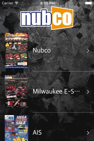 Nubco Catalogue screenshot 1