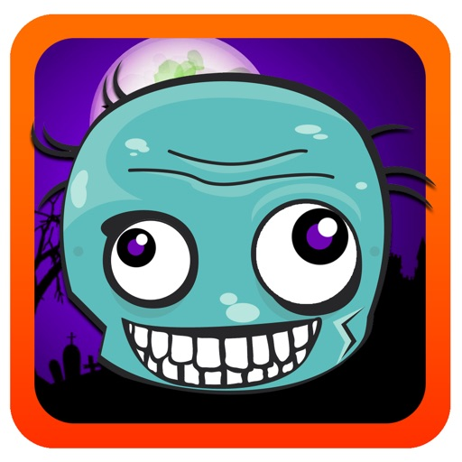 Happy Crash Zombie Match-3 - The Dawn Series FREE By Animal Clown iOS App