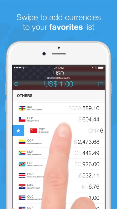 Screenshot #3 for Currencies by Edovia