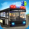 Police Cop Bus Transport - American City Police Department Pflicht