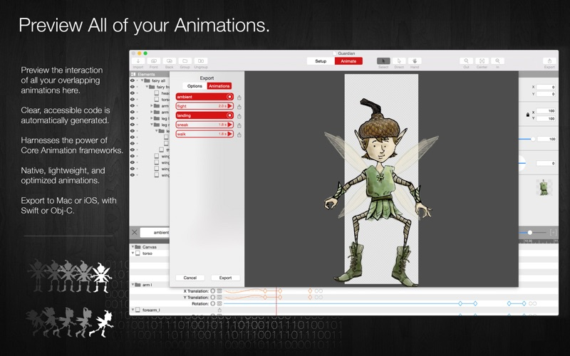 Core Animator Screenshots