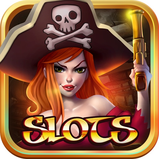 Slots Miss 777 Pirate Queen: Caribbean Bay Jackpot Fortune - Vegas Slot-Machines iOS App