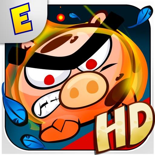 愤怒的小猪:Raging Pigs HD 【街机跳跃】