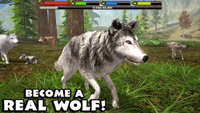 Ultimate Wolf Simulator Screenshot
