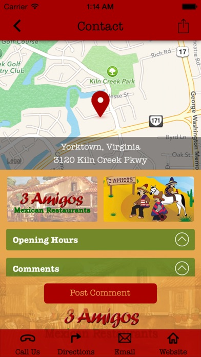 download 3 Amigos Mexican Restaurants - Yorktown apps 2