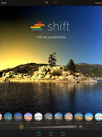 Shift - Create Custom Filters with Textures, Gradients, and Blends Screenshot