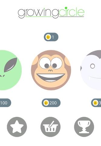 Growing Circle screenshot 2