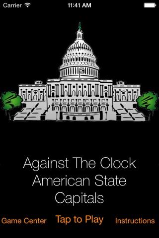 Against The Clock - American State Capitals screenshot 1