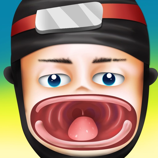 Awesome Little Ninja Dentist - kids teeth doctor game iOS App