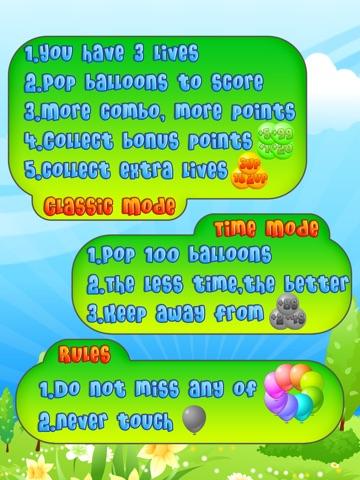 Balloon Mania - Pop Pop Pop Скриншоты10