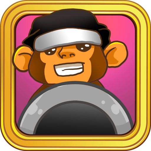 Awesome Banana Ninja Free iOS App
