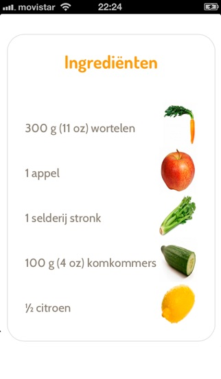 Download Groentesappen met Fruit lite App