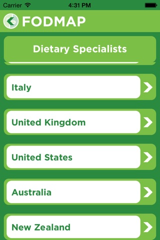 FODMAP Friendly screenshot 4