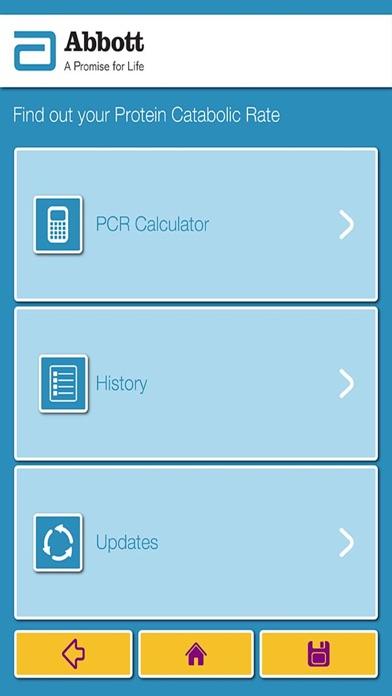 Abbott Nutrition - Nepro nPCR Calculator App-0