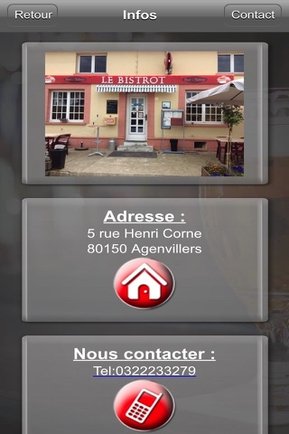 Le Bistrot screenshot 2