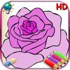 Libro de colorear para chica HD