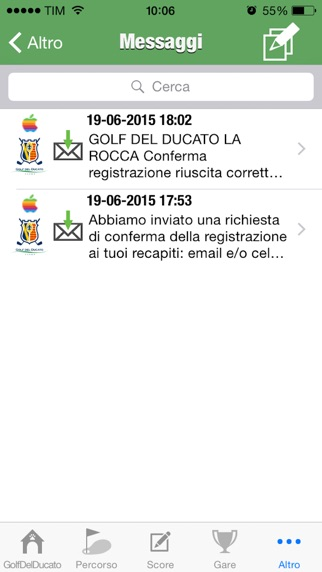 Screenshot of Golf Del Ducato La Rocca4