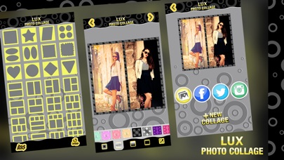 download Lux Photo Collage Editor: Luxurious Picture Frames & Grid Maker for Collages apps 3