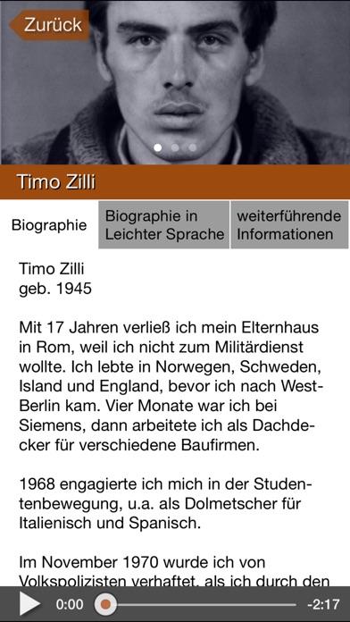 Gedenkort Rummelsburg 1879-1990 Screenshot