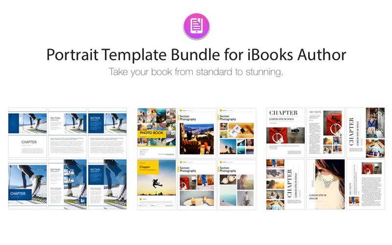 Portrait Templates iBooks Author Edition | App Price Drops