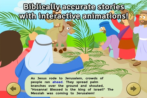 Life of Jesus: Last Supper - Bible Story, Coloring, Singing, and Puzzles for Kids screenshot 2