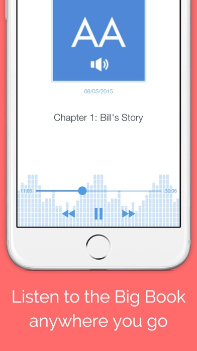 Big Book Audio - Unofficial Audiobook for Alcoholics Anonymous Screenshot