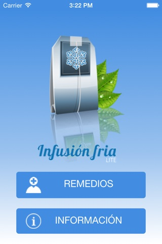 Infusión Fría screenshot 2