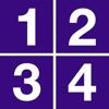 1-2-3-4 - mathematical game