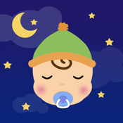 Baby white noise and lullaby for stop crying to help parents and infants. icon