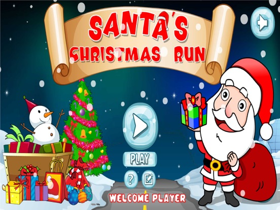 Santa Christmas Gift Run-ipad-0