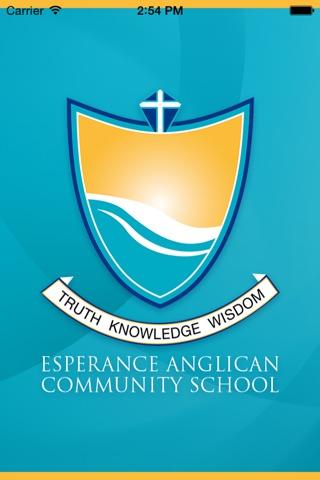 Esperance Anglican Community School - Skoolbag screenshot 1