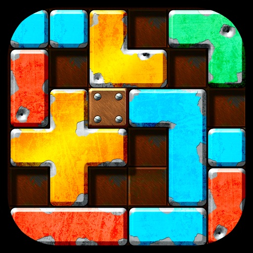 Slide Tetromino FREE iOS App