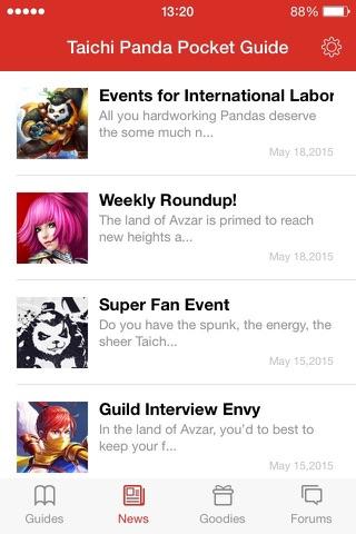 Taichi Panda Pocket Guide screenshot 2