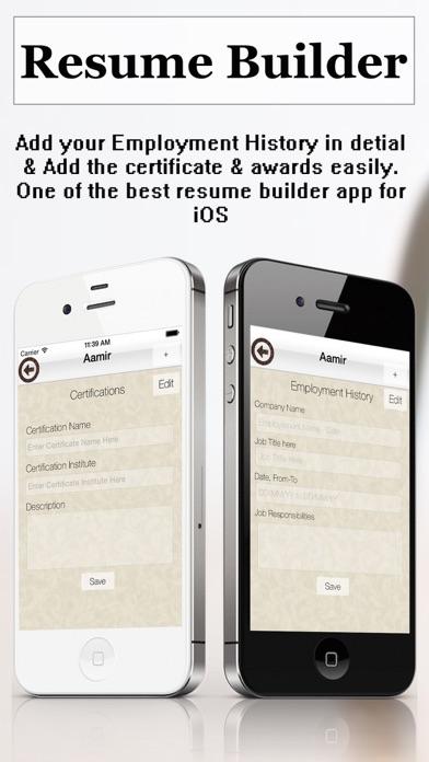 resume builder pro cv maker and resume designer with pdf output