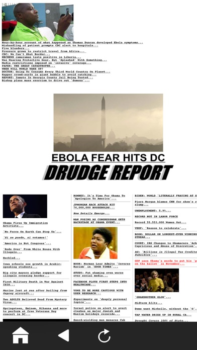 Official Drudge Report (free) review screenshots