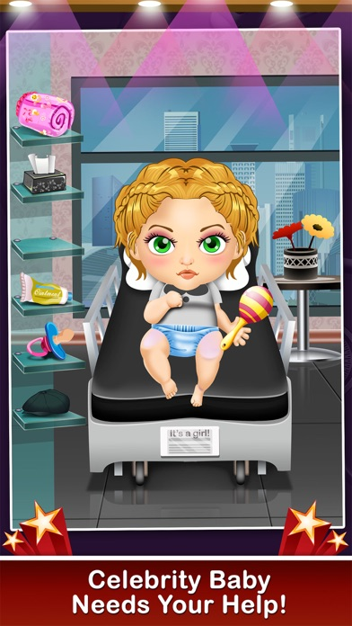 download Celebrity Mommy's Hospital Pregnancy Adventure - new born baby doctor & spa care salon games for boys, girls & kids apps 3