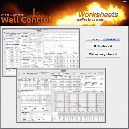 Well Control Worksheets