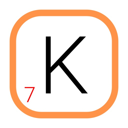 Kwords: A game about joining letters iOS App
