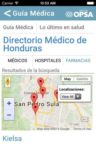 Directorio Médico de Honduras screenshot 2