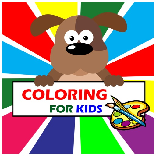 Coloring Books for kids iOS App
