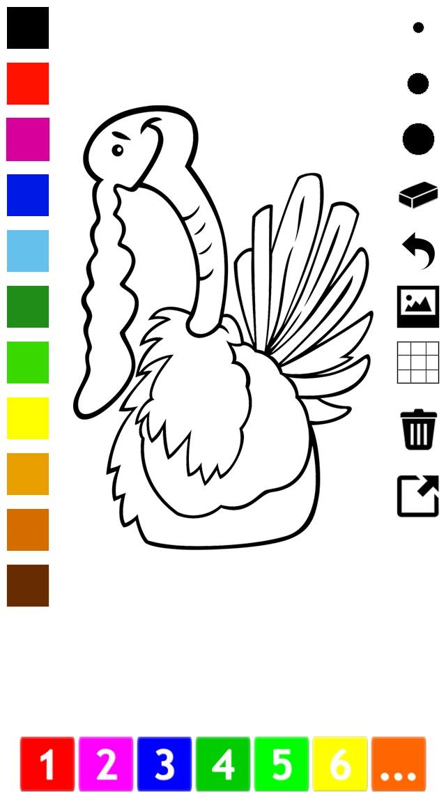 download Actif! Un Livre de Coloriage Pour Les Enfants Avec des Animaux apps 3